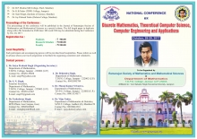 "National Conference on ""Discrete Mathematics, Theoretical Computer Science, Computer Engineering and"